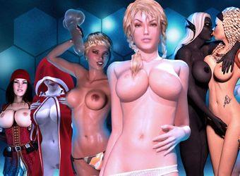 Jeux nues adultes atteints porno 3D interactive