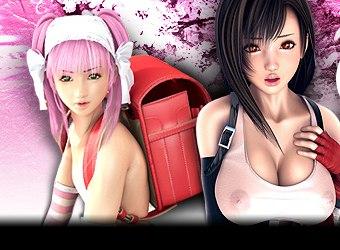 Meilleurs jeux hentai avec des filles hentai et manga baise