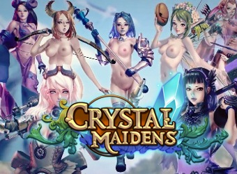 Jeu d'adulte Crystal Maidens RTS avec aventures