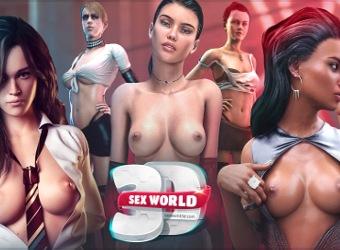 Sex World 3D prochaine génération jeu porno