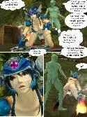 Anime esclave prend ejaculation chaude sur visage