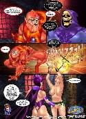 Heros contes fees celebres baisent dans bande dessinee adulte