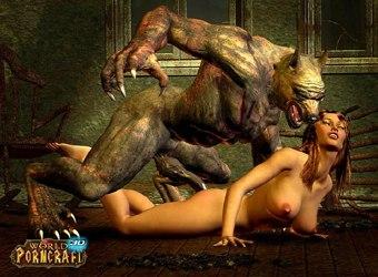 World of Porncraft MMORPG monstre porno